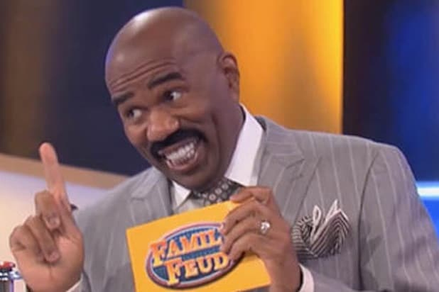 steve harvey family feud