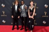 "Stranger Things kids perform ""Uptown Funk"" at Emmys"