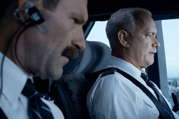 Sully - Starring Tom Hanks, Directed by Clint Eastwood