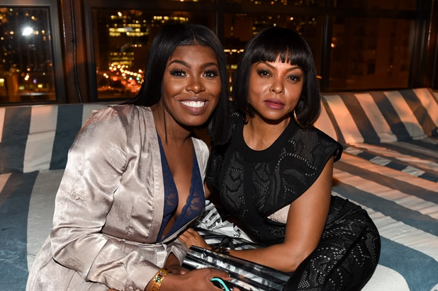 EMPIRE SEASON THREE PREMIERE PARTY: Ta'Rhonda Jones and Taraji P. Henson celebrate at the EMPIRE Season Three Premiere Event sponsored by Lincoln, at the Soho House Chicago on Tuesday, September 20, 2016 in Chicago, Illinois. EMPIRE premieres Wednesday, September 21 (9:00-10:00 PM ET/PT) on FOX. © 2016 FOX BROADCASTING CR: Frank Micelotta/FOX.