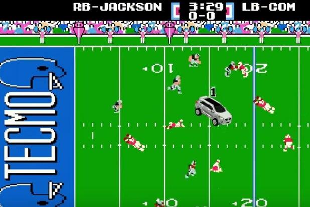 Watch Brilliant Bo Jackson Tecmo Super Bowl Spot Video