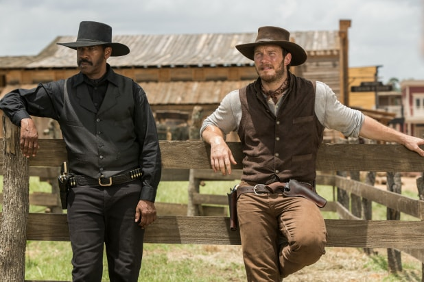 'Magnificent Seven' wins box office shoot-out over 'Storks'