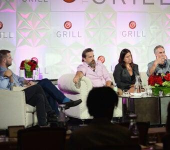 VR Panel at TheGrill Media Conference virtual reality