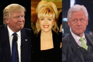 donald trump gennifer flowers bill clinton