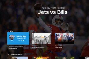 twitter apple tv xbox one amazon app nfl thursday night football