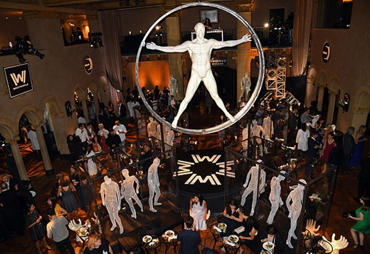 "HOLLYWOOD, CA - SEPTEMBER 28: A general view of atmosphere is seen during the premiere of HBO's ""Westworld"" after party at The Hollywood Roosevelt on September 28, 2016 in Hollywood, California. (Photo by Jeff Kravitz/FilmMagic)"