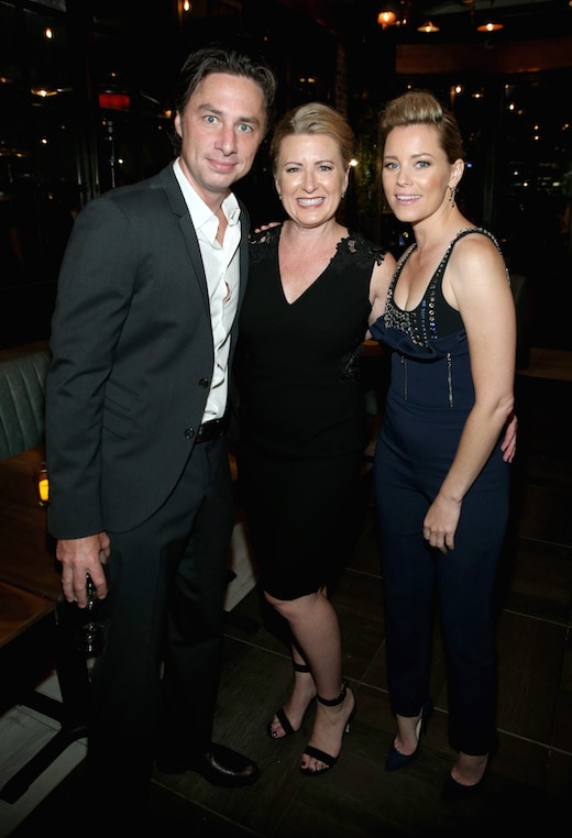 Zach Braff, Jeri Ward, ElizabethBanks