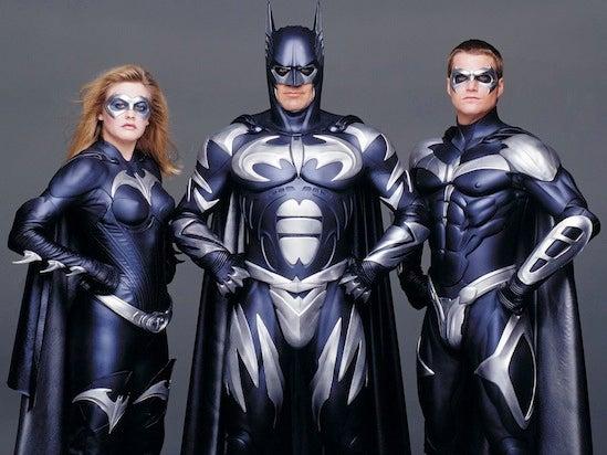 batman and robin batsuits