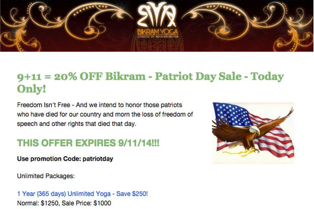 911 tasteless bikram yoga arlington