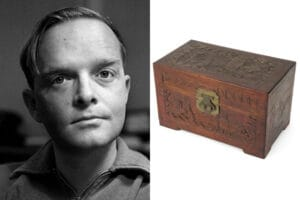 truman capote ashes auction remains auctioned