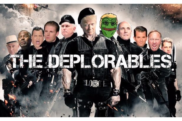 basket of deplorables donald trump david duke roger stone