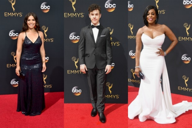 emmys red carpet arrivals