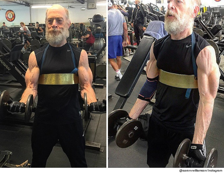 Jk Simmons Aesthetic physique