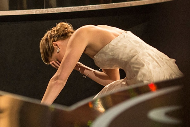 Jennifer Lawrence Fall Oscars