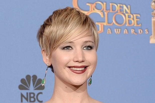Jennifer Lawrence Golden Globes