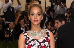 Jennifer Lawrence nude photo hack Met Ball