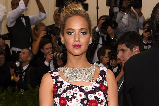 Jennifer Lawrence nude photo hack Met Ball