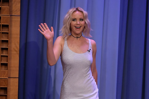 Jennifer Lawrence Tonight Show