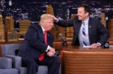 Jimmy Fallon donald Trump hair