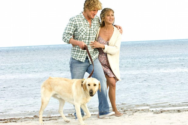marley and me jennifer aniston owen wilson dog