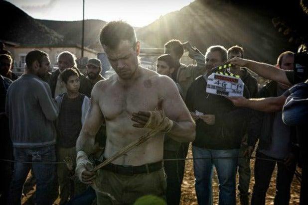 Matt Damon aesthetic physique