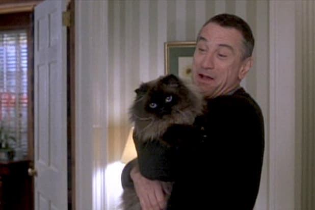 Meet the Parents Robert De Niro cat Mr. Jinx