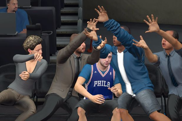 NBA 2K17 clipping body horror fans