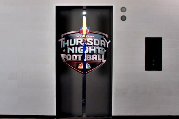 NBC Thursday Football ad
