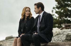 the x files gillian anderson david duchovny