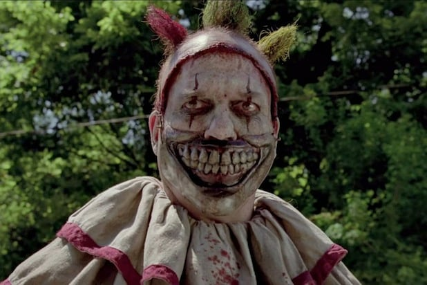 Creepy clown mask twisty american horror story