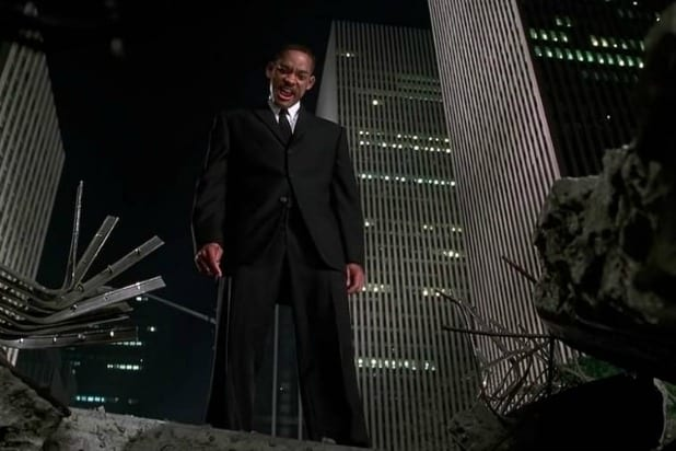will smith men in black world trade center
