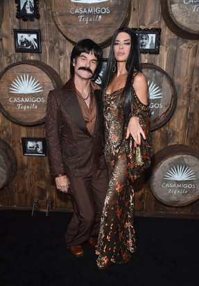Harry Hamlin and Lisa Rinna 2016 Casamigos Tequila Halloween Party