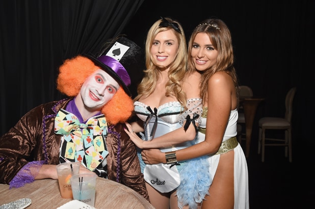 Ryan Lochte and guests Casamigos Tequila Halloween Party 2016
