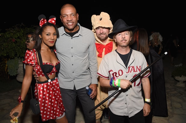 Doc Rivers David Spade and guests 2016 Casamigos Tequila Halloween Party