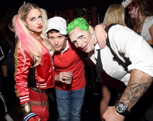 Kevin Connolly (center) and guests 2016 Casamigos Tequila Halloween Party