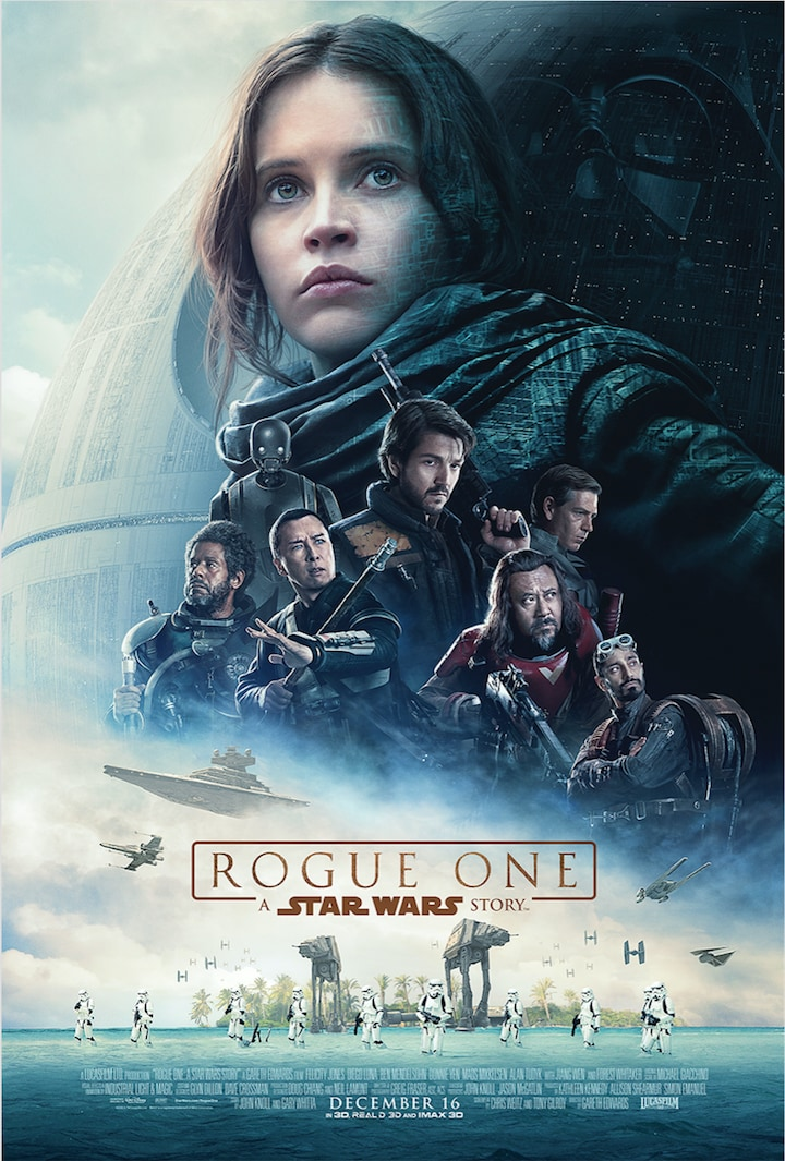 Star Wars Rogue One theatrical poster
