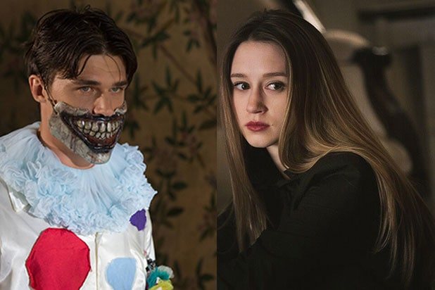 Finn Wittrock Taissa Farmiga American Horror Story