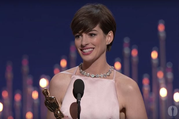 Anne Hathaway may replace Amy Schumer in Barbie movie