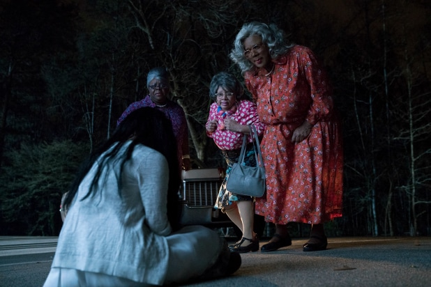 Tyler Perry treats box office with 'Madea Halloween'