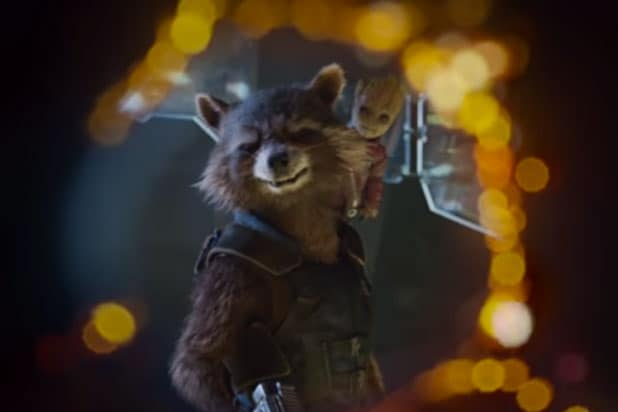 see adorable baby groot in guardians of the galaxy vol 2 trailer