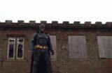 Batman battles creepy clowns in UK