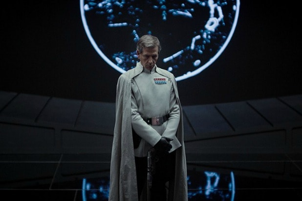 Ben Mendelsohn rogue one a star wars story trailer