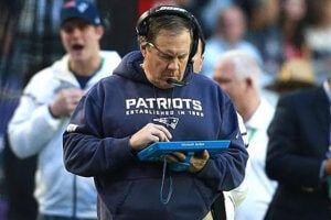 bill belichick tablet