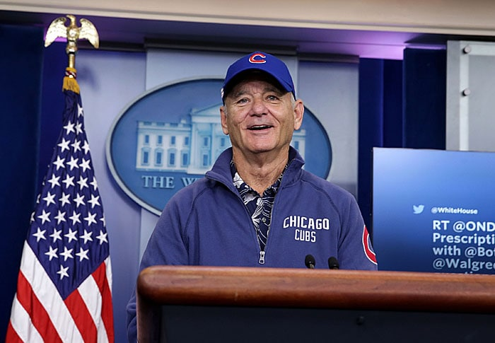 766e3f7033e Bill Murray to Sing at World Series Game 3