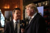 Billy Bush and Donald Trump January 2015