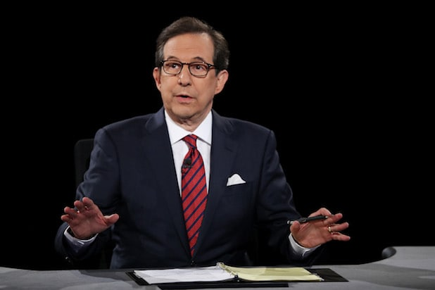 Chris Wallace Final Presidential Debate Between Hillary Clinton And Donald Trump Held In Las Vegas Fox News ratings