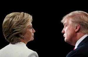 Hillary clinton donald trump Final Presidential Debate Between Hillary Clinton And Donald Trump Held In Las Vegas slate