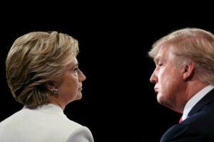Hillary clinton donald trump Final Presidential Debate Between Hillary Clinton And Donald Trump Held In Las Vegas