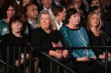 Kathleen Willey, Juanita Broaddrick and Kathy Shelton second of three presidential debates 2016 Bill Clinton accusers