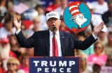Donald Trump and Cat in the Hat